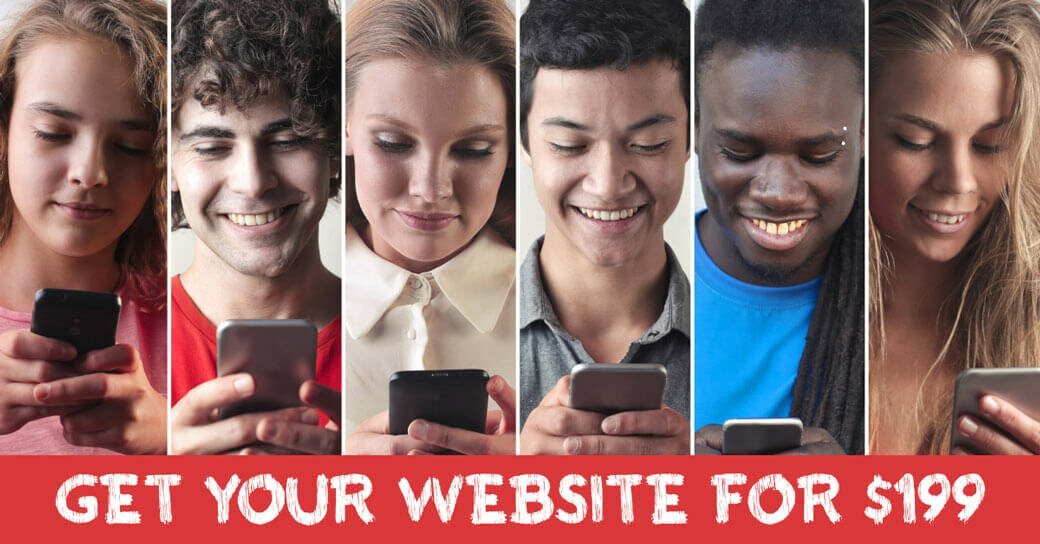your mobile website or landing page