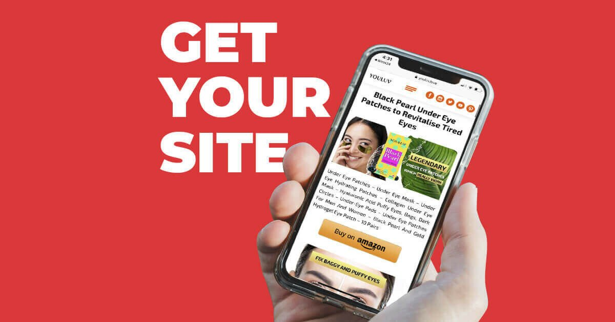 landing page mobile optimised