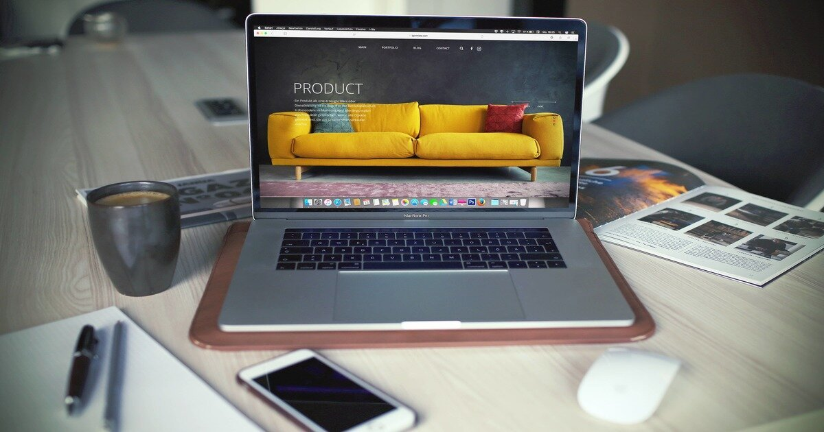 design your website to sell stuff