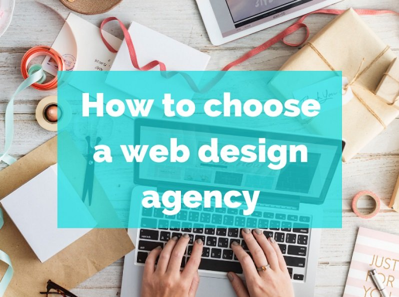 How to choosea web design agency